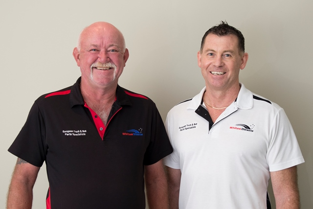 Darryl White and Rodney Hemaridis, founders of Whites Diesels Australia