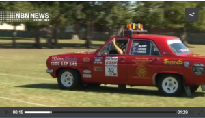 Variety Bash Saxby car 32 NBN News